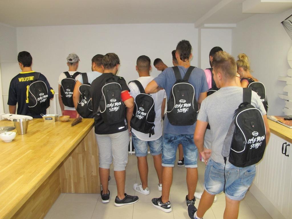 Taller Cocina Valencia | Los Jovenes Del Programa De Medio Abierto De Valencia Participan